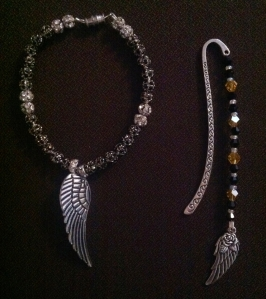 Hidden Wings Bracelet Bookmark