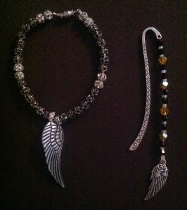 Hidden Wings Bracelet Bookmark