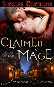 Claimed by the Mage Cover