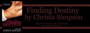 Banner - Finding Destiny by Christa Simpson