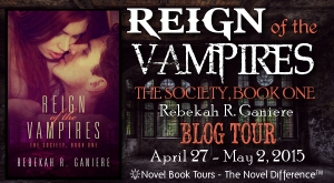 Tour Banner - Reign of the Vampires